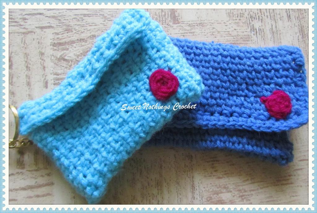 Sweet Nothings Crochet Easy Credit Card Holders