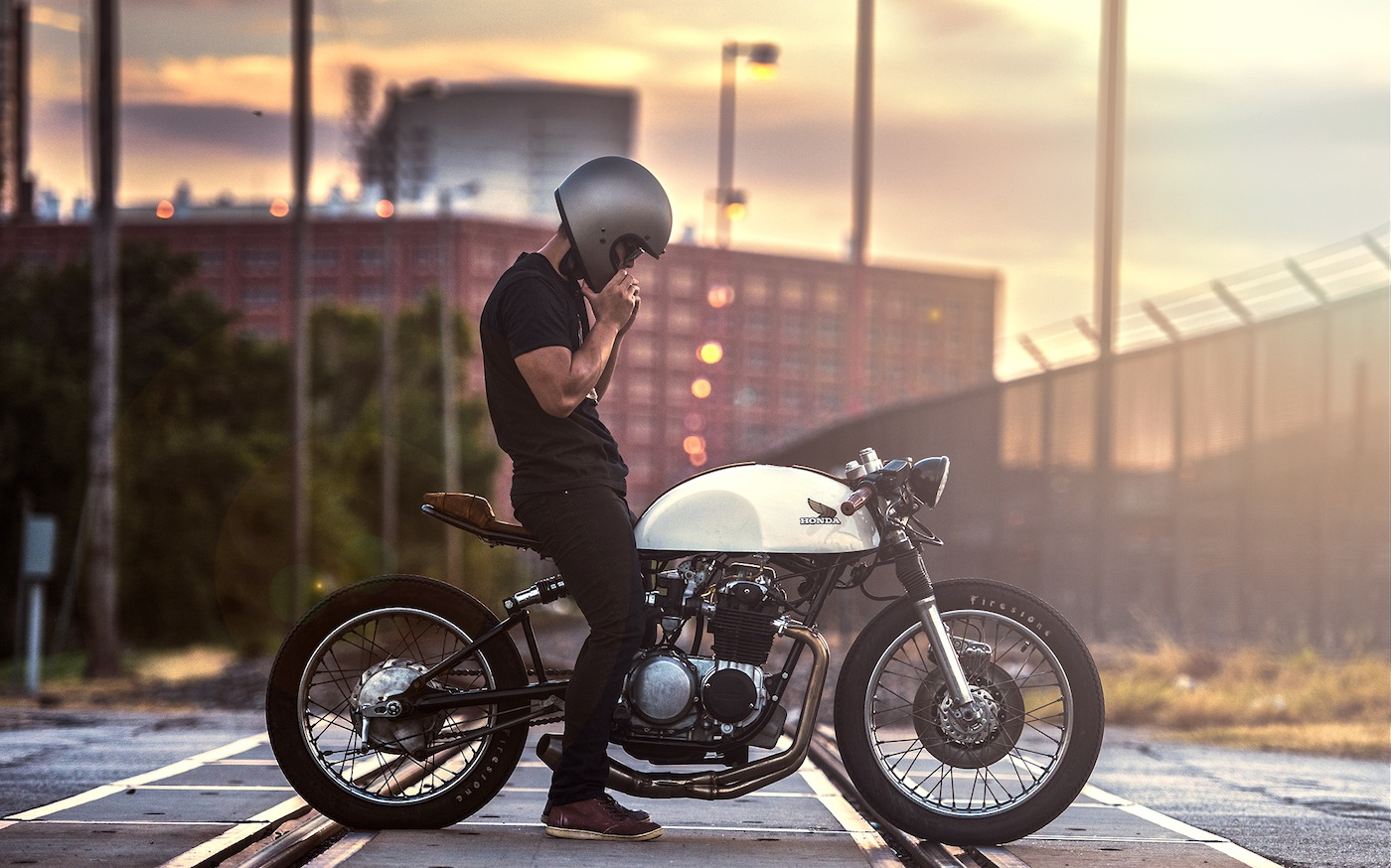CB500 by Kinetic | Inazuma café racer