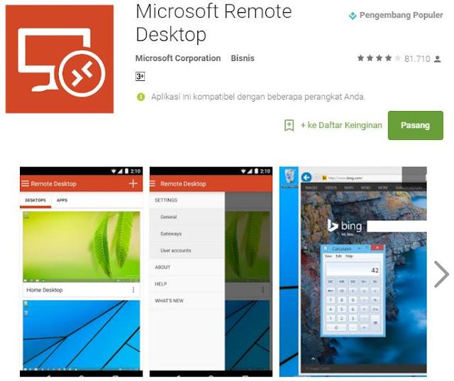 6 aplikasi Android terbaik transfer file dengan sekejap - Remote Web Desktop