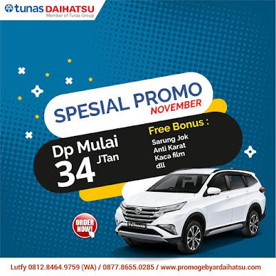 Promo Daihatsu Terios November 2018