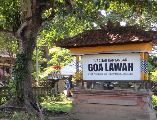 Goa Lawah Bat Cave Temple Bali, History Of Goa Lawah Temple