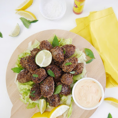 Party Food | Brazilian Kibbe Croquettes Appetizer Recipe