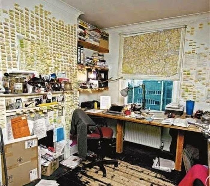 Workspaces Of The Greatest Artists Of The World (38 Pictures) - Will Self, writer