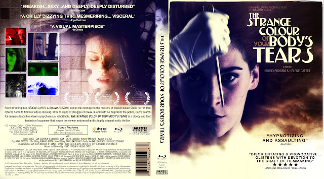 The Strange Colour Of Your Body's Tears Bluray Cover