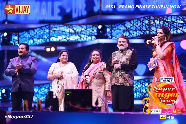 Super Singer Junior 5 Grand Finale Winner Live @ Vijay TV – SSJ5 Winner Final Details And Updates Here