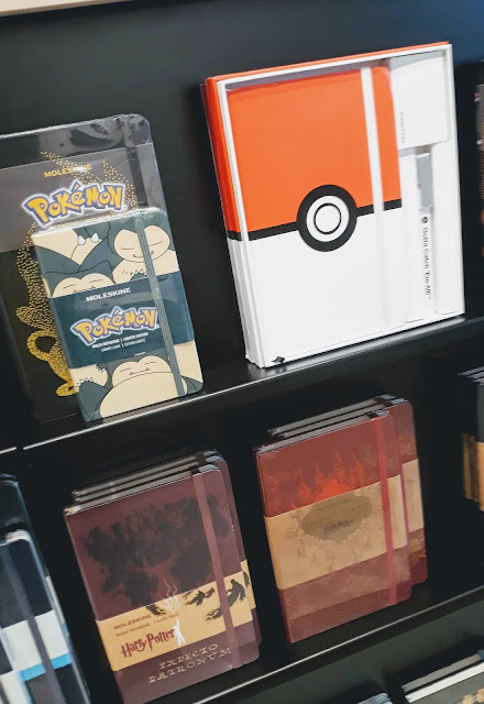 pokemon, harry potter, moleskine, notebook