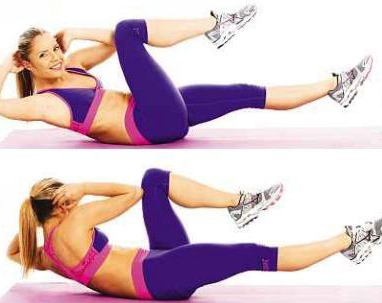 bicycle-Crunch-Exercise-to-reduce-belly-fat
