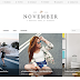 November Template Grátis Para Blogger
