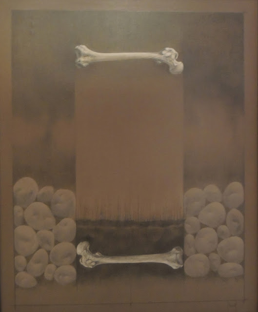 Carles Planell pintura vanguardista contemporánea huesos