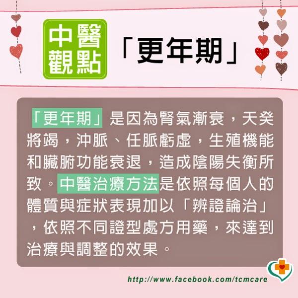 裕安中醫診所: 婦女更年期