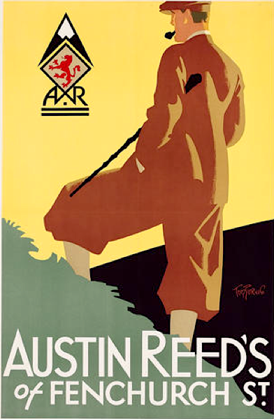 Art Contrarian Tom Purvis Austin Reed Posters