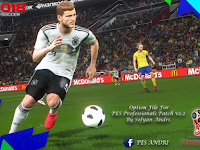 Option File PES 2018 untuk PES Professionals V2.2 update 19/6/2018