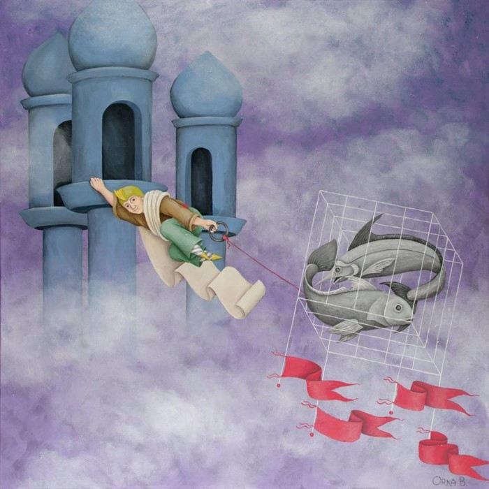 Мир в себе. Orna Ben-Shoshan