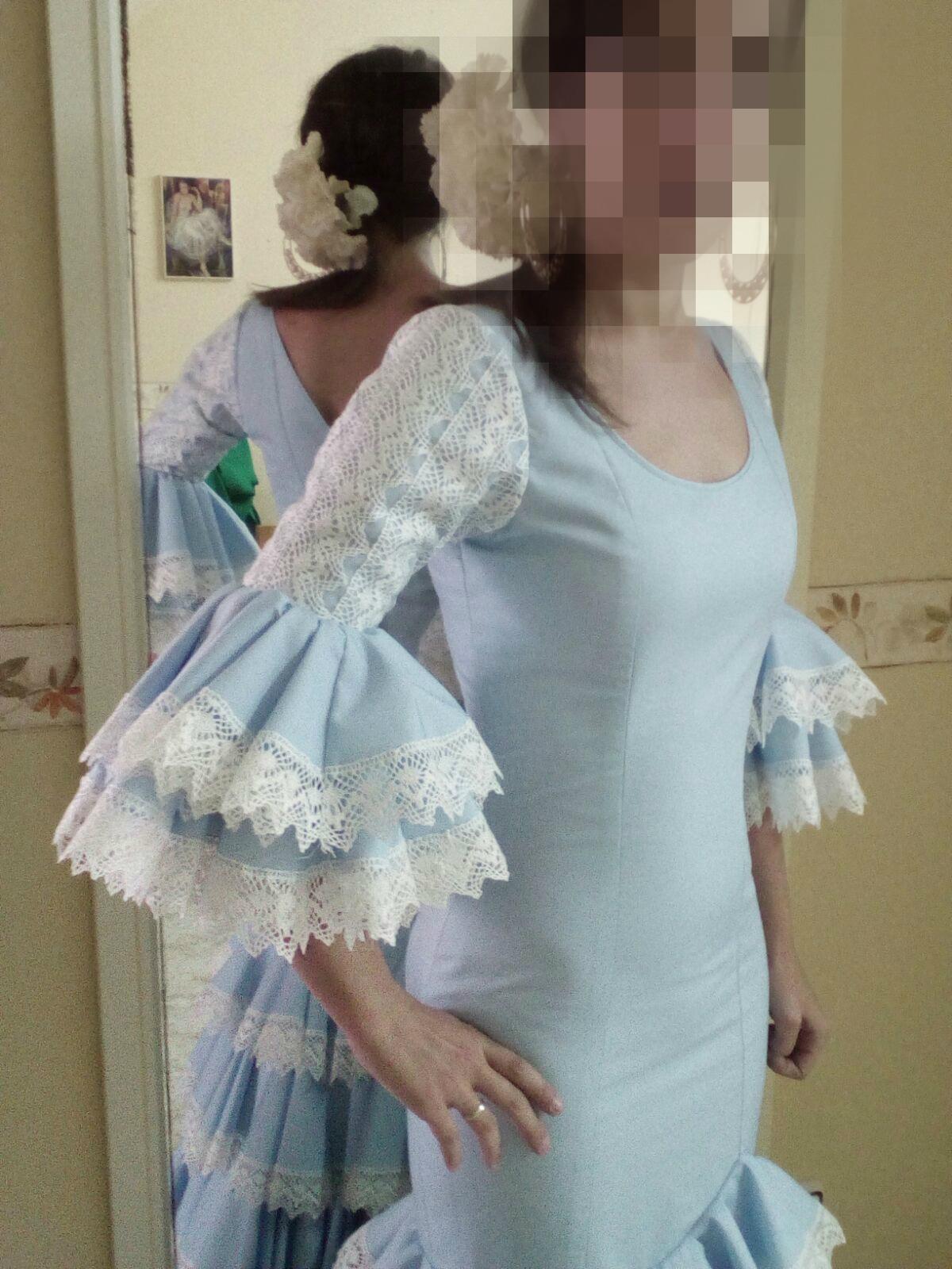 Aurora Modista: Trajes de Flamenca