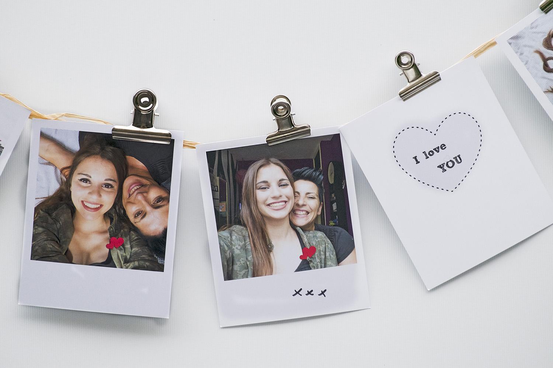 Diy retroprints met Polaroid frame