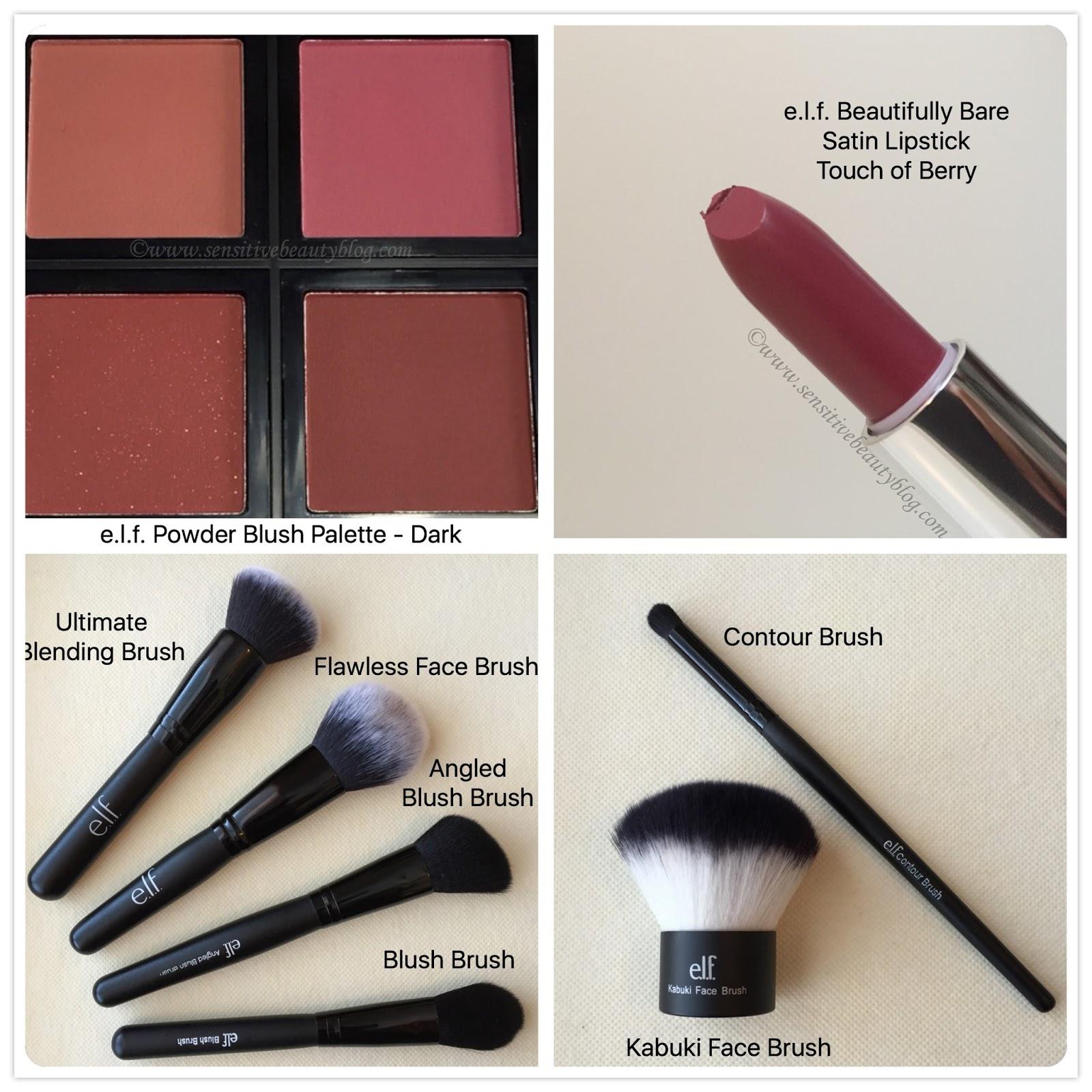 Sensitive Beauty Blog Elf Cosmetics 3 Days Of Free Shipping Studio