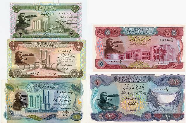 Dinar Douchebags: The New Dinar Notes