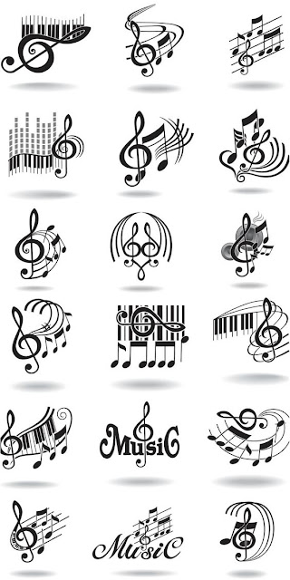 Note Music Tattoos Collections