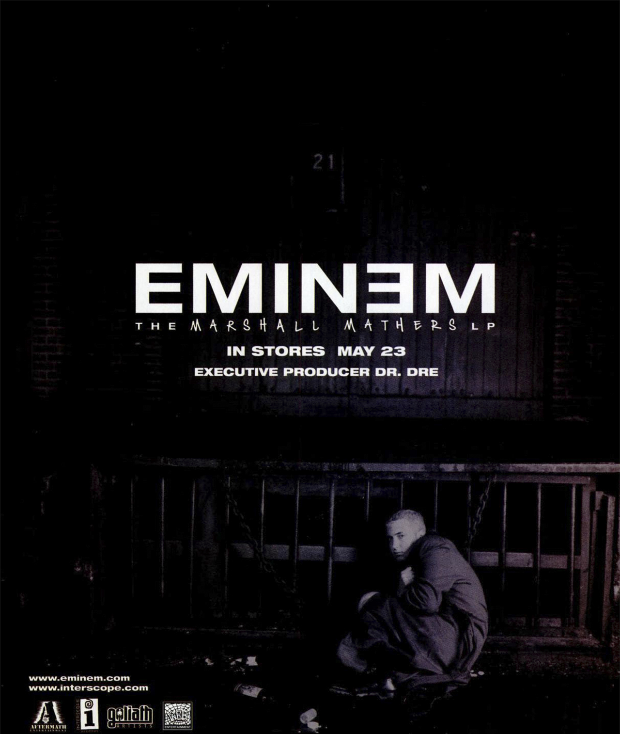 Eminem 'The Marshall Mathers LP' Advertisement 2000