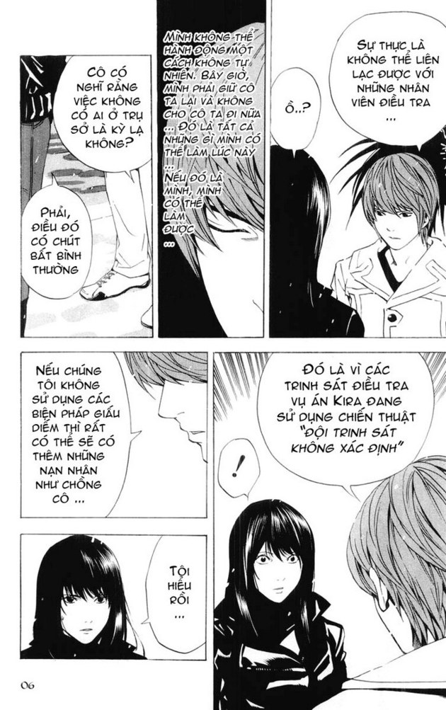 Death Note chapter 014 trang 7