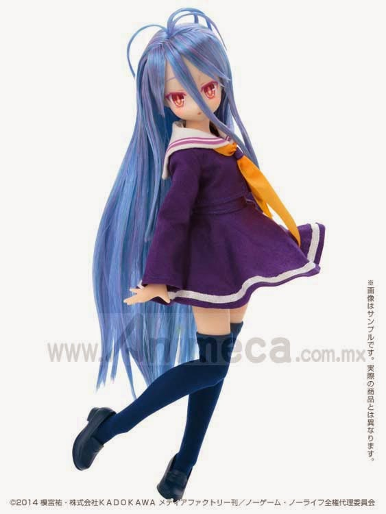 DOLL SHIRO Pure Neemo Character Serie No.083 No Game No Life