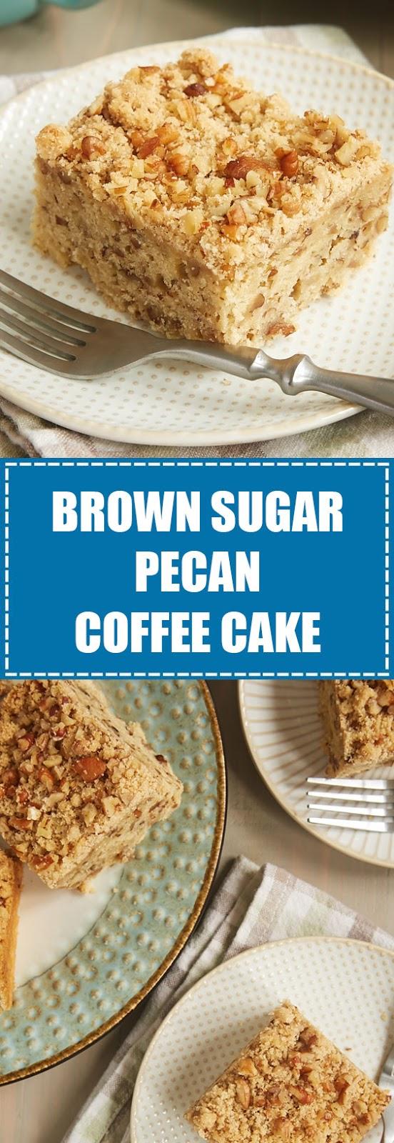 Brown Sugar Pecan Coffe Cake