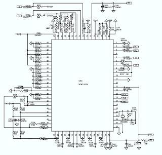 JBL ESC230 120V SPEAKER SYSTEM – SCHEMATIC