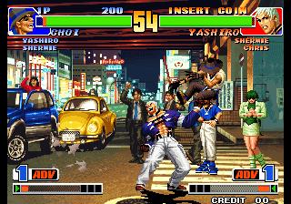 โหลดเกม King Of Fighters 98 The .gbc