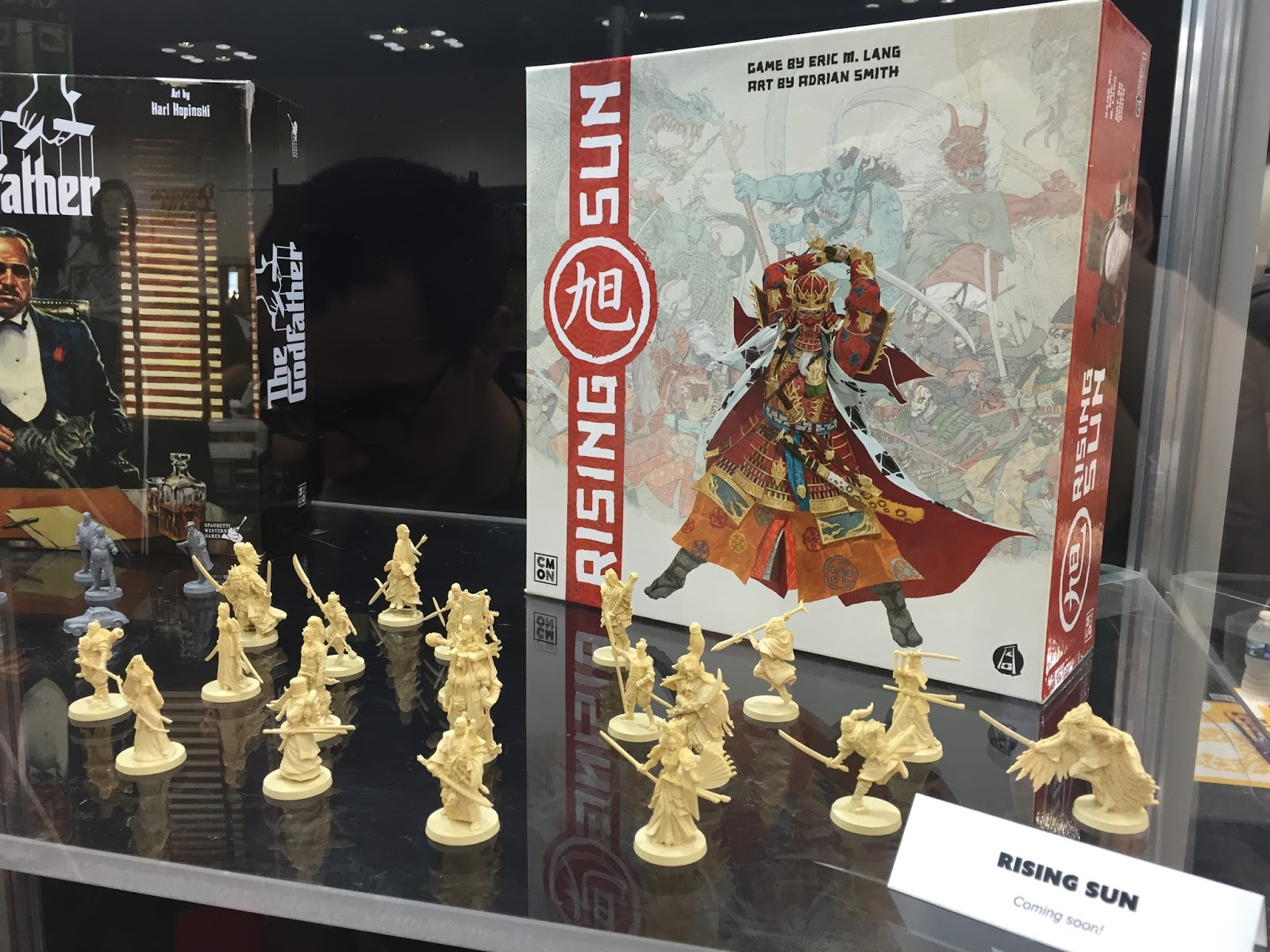 Rising Sun Eric Lang CMON board game