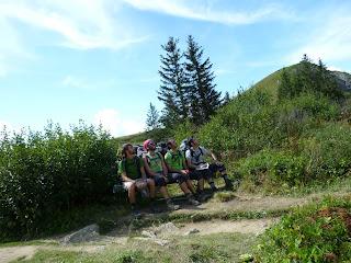 Combe d'Armancette Tour del Mont Blanc