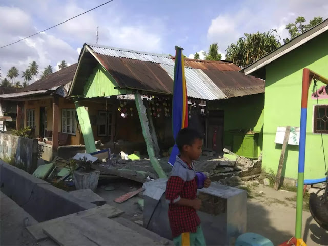Indonesian city Palu hit by tsunami after strong 7.5 quake: Officials