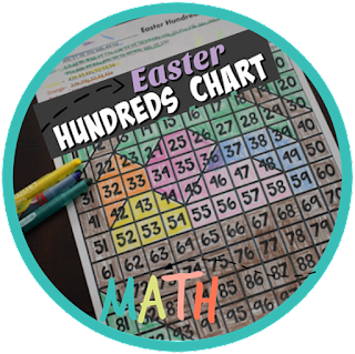 Easter Hundreds Chart Coloring