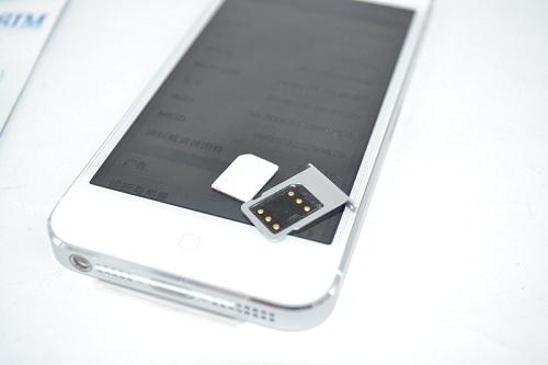 Mở khóa iPhone 5 với sim ghép