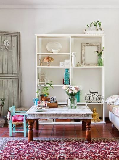 De Ambiente Romantico Vintage Decoracion - Decoracion-romantica-vintage