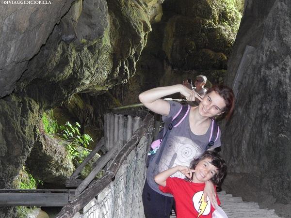 Grotte del Caglieron : Gufetta e Flash