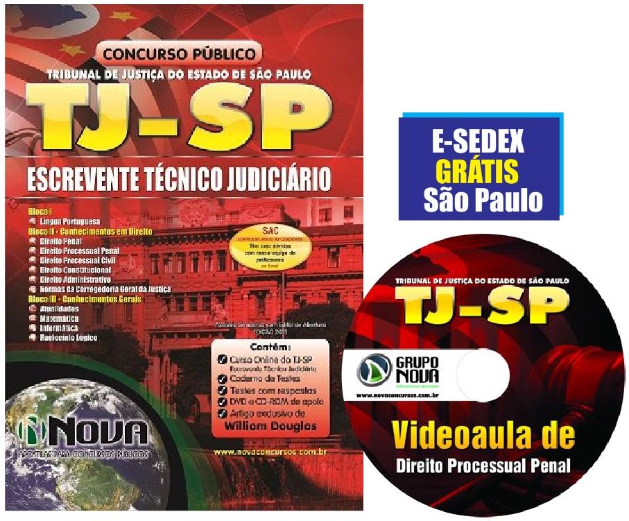Escrevente Tecnico Judiciario 2015 Apostila Pdf