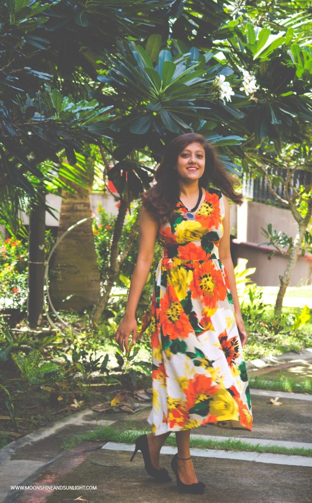 Gravitating, OOTD Post, Fashion blog by Priyanjana Roy, Moonshine and sunlight, ridress, Bangalore