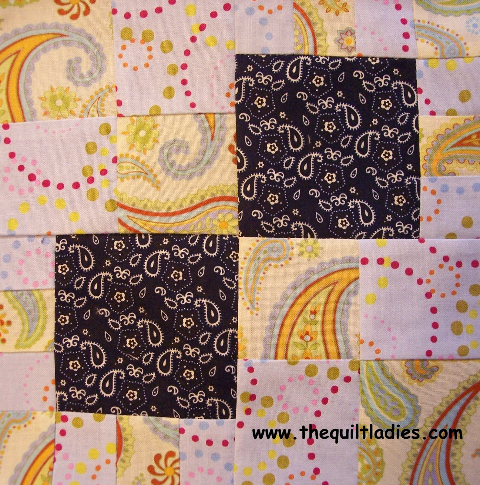 Quilt Pattern Tutorial Pattern from Crazy Man Quilt Pattern Book