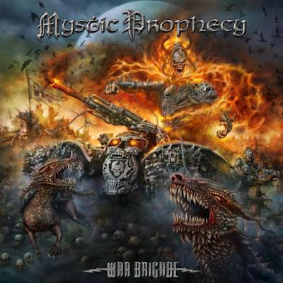 Mystic Prophecy - War Brigade - album cover - 2016