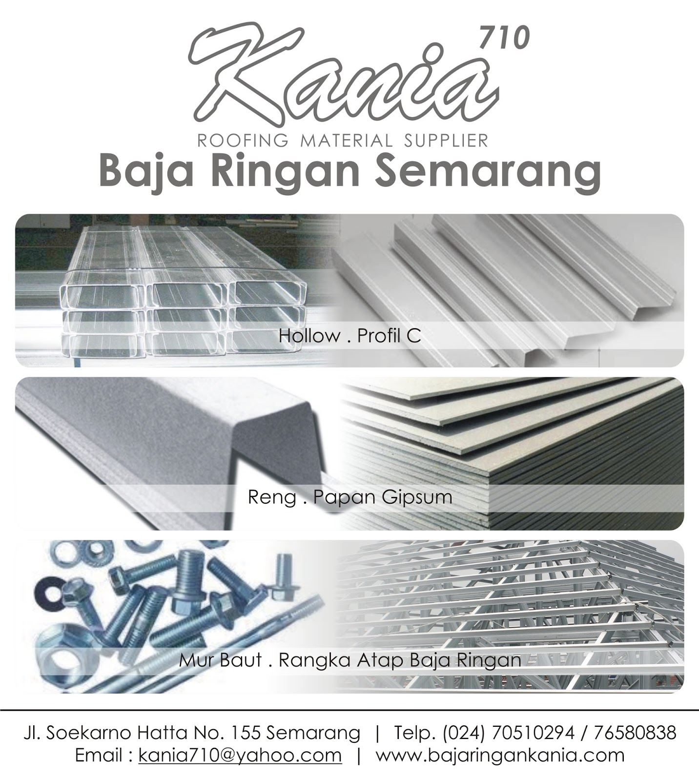 Harga Baja Ringan 2018 Semarang Jepara Berkualitas 2016 2017 Terbaru