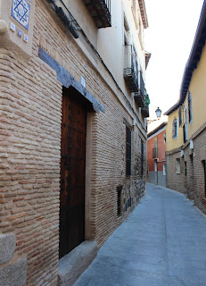 Calles de la judería de Toledo