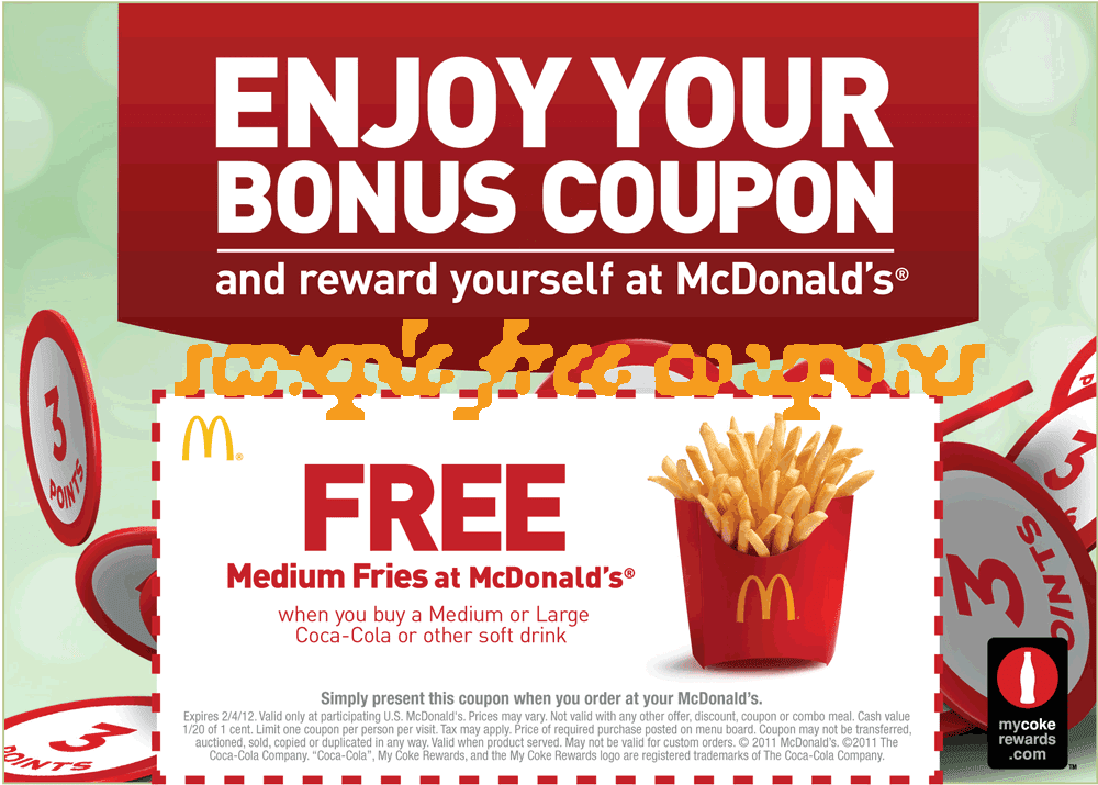 McDonalds Canada Promo Codes, Coupons & Deals - Sep 2020