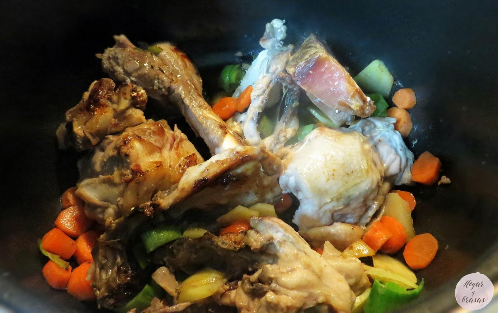 Como hacer un caldo de pollo como los de antes