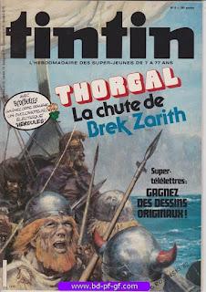 Tintin-numéro 5, année 38,  1983, Thorgal