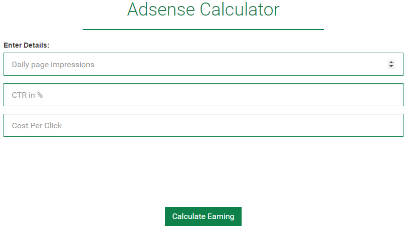 Why Adsense Earnings Dropped dramatically [Low RPM]?