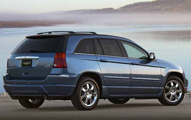 Automotive database chrysler pacifica cs 2007 chrysler pacifica rear 34 view fandeluxe Image collections