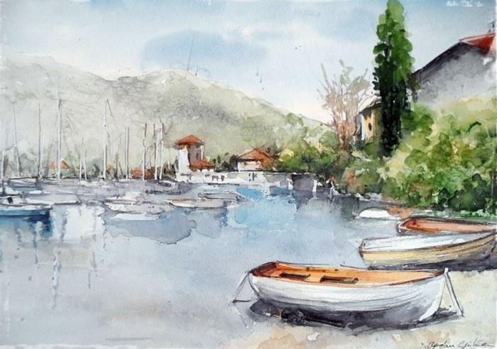 Турецкий художник. Orhan Gurel