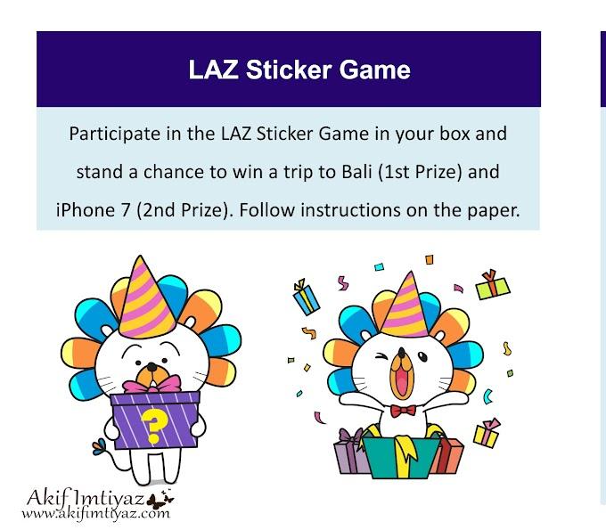 Laz Sticker Game Bagi Satu Like Boleh