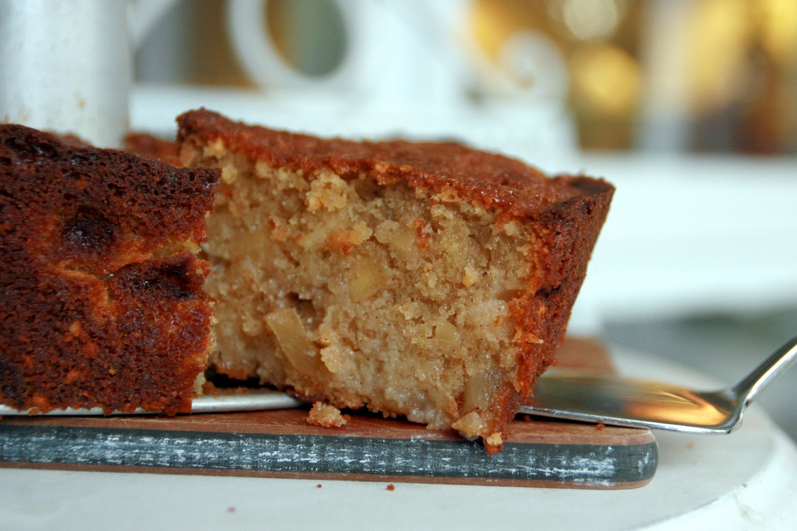 Cooking With Chopin Living With Elmo Apple Almond Cake Src