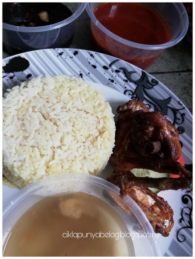Nasi ayam simple dan sedap, cara saya!